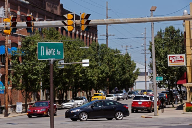 Changes are coming to the intersection of Fort Wayne Avenue and North D and Seventh streets in Richmond's Historic Depot District. The improvements will help make the area safer for pedestrians.