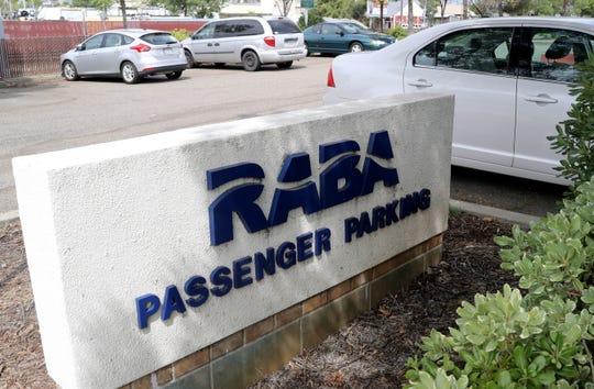 RABA passenger parking.