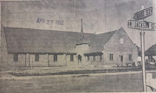 A new Church of the Nazarene was built in San Angelo in 1952 following a fire which destroyed the original building on Nov. 4. 1951.