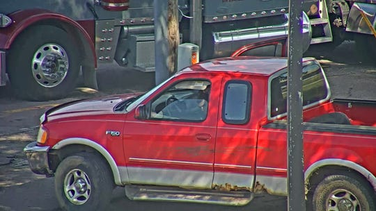 Police used a publicly-accessible traffic camera on Interstate 90 and Cliff Avenue to conduct surveillance on a truck in connection with a homicide.