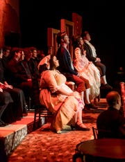 """A scene of SRO's production of """"Candide"""" early this year."""