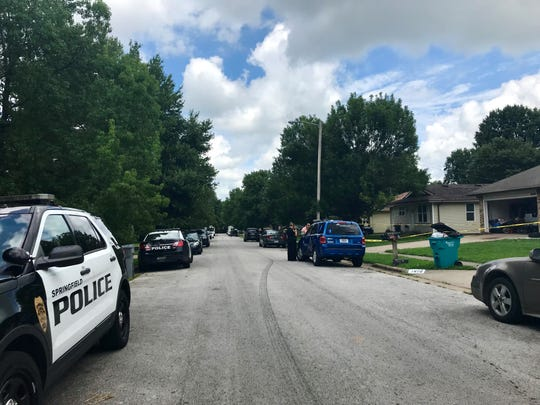Police said a shooting happened at a residence on the 1600 block of North Lone Pine Avenue on Friday, Aug. 9 in Springfield, Mo.