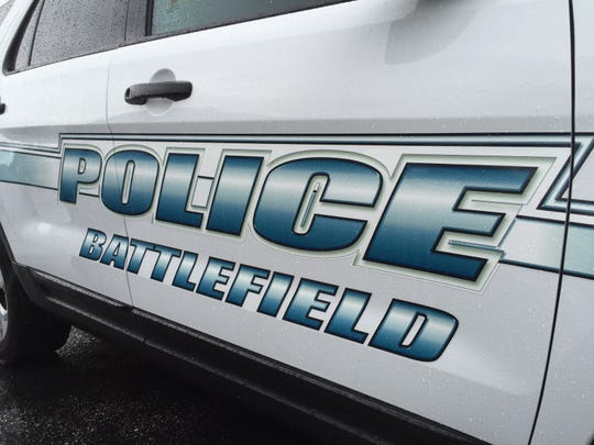 A file photo of a Battlefield Police Department vehicle