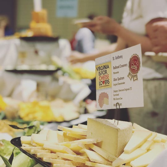 St. Anthony, a cheese created by Redhead Creamery in Brooten, took second place at the American Originals category of the American Cheese Society Awards Aug. 2, 2019, in Richmond, Virginia.