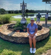 Megan Schofill, a three-time girls golf All-Big Bend Player of the Year at Aucilla Christian and a true freshman at Auburn, reached the Round of 16 at the 2019 U.S. Women's Amateur in Mississippi.