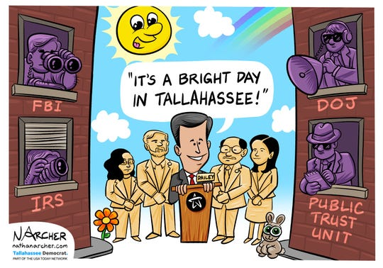 Bright day in Tallahassee