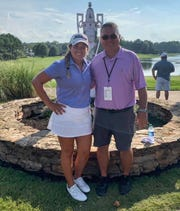 Megan Schofill, a three-time girls golf All-Big Bend Player of the Year at Aucilla Christian and a true freshman at Auburn, reached the Round of 16 at the 2019 U.S. Women's Amateur in Mississippi. Her father, Billy, caddied for her all week.