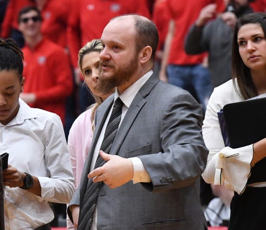 Matt Huddleston has vast experience coaching women's high school and college basketball. He is the new head coach for the TCC women's team.