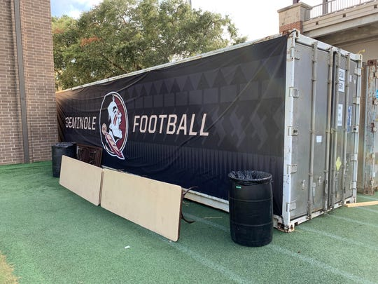 FSU's recovery box for dealing with heat injuries.