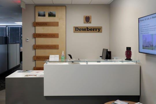 The Dewberry office at 101 North Monroe St., Tallahassee, Fla. 32301.
