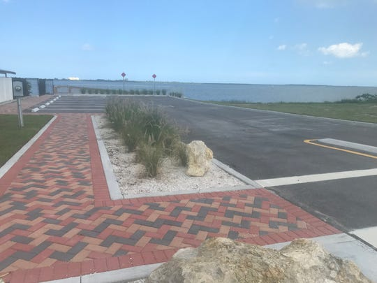The kayak-launch park at Citrus Avenue and Indian River Drive in Fort Pierce opened Friday. It was empty Friday afternoon.