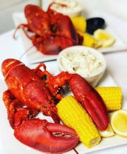 Lobster at The Place in New City. Every Friday is Lobster Night for $19.95.