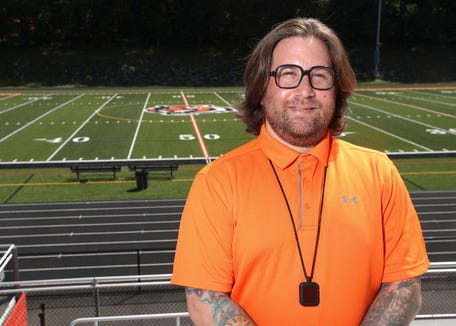 Ryan Marcus takes over as Spring Valley High School's sports coordinator.  Marcus was photographed at Spring Valley High School on Friday, August 9, 2019.