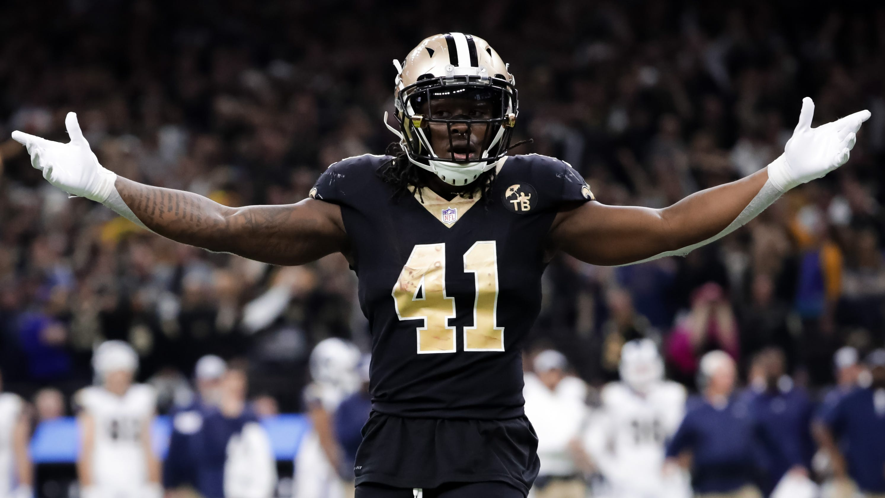huge discount 9fdb4 71223 Alvin Kamara: 3 facts on the New Orleans Saints running back