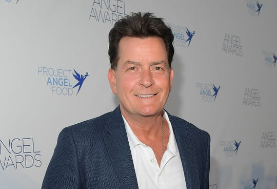 Charlie Sheen attends Project Angel Food's Angel Awards on Aug. 18, 2018 in Hollywood, Calif.