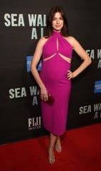 Anne Hathaway's Brandon Maxwell Dress.