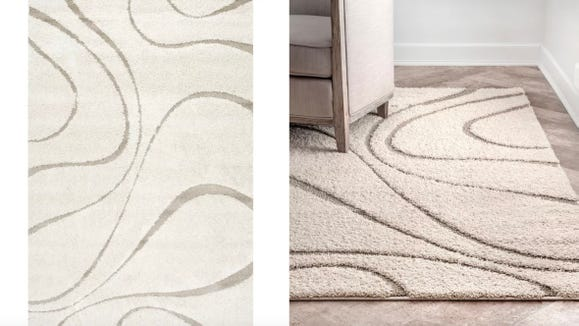 This is one of those rugs you can put in any room and have it look great.