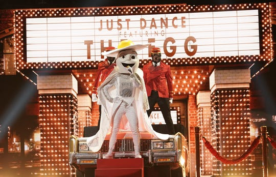 Egg is one of the early nominees for favorite new costume on Season 2 of Fox's 'The Masked Singer,' which premieres Sept. 25.