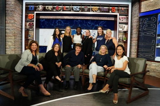 Among the women at the forefront of the ACC network are: front row (L-R): Susan Mattia, Linda Cabral, Amy Rosenfeld, Meg Aronowitz and Jenny Tsong; back row (L-R) - Patricia Yáñez, Stacie McCollum, Rosalyn Durant, Michelle Berry, Keri Potts and Carol Boyle.