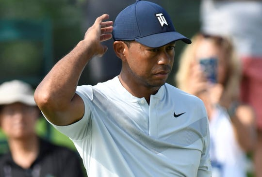 Tiger Woods has pulled out of the Northern Trust because of an injury.