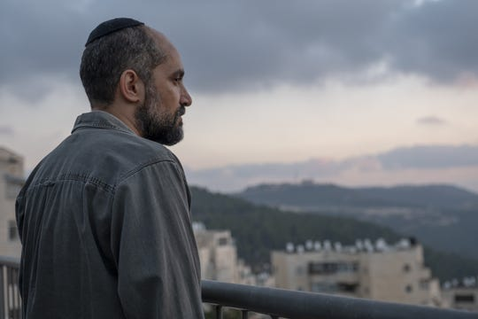 """Simon (Shlomi Elkabetz) is an Israeli Security Agency operative investigating the murder of a Palestinian teen in HBO miniseries """"Our Boys."""""""
