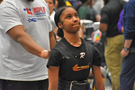 Pineville powerlifter Xacaria Clark is one of three Lady Rebels that will compete for Team USA at the World Sub-Junior & Junior Powerlifting Championships in Canada from Aug. 26-31.