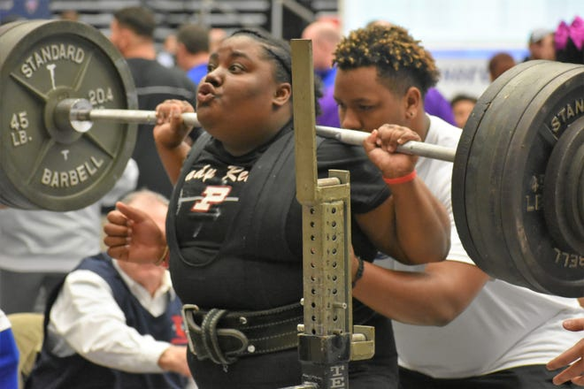 Pineville powerlifter Jamie Johnson is one of three Lady Rebels that will compete for Team USA at the World Sub-Junior & Junior Powerlifting Championships in Canada from Aug. 26-31.