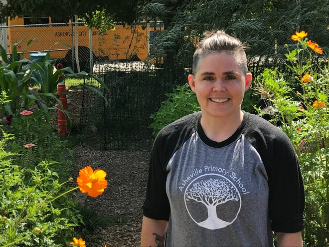 Asheville Primary School principal Lauren Evans wants language around the achievement gap to shift.