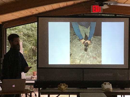 "Weeks after catching the infamous Chicago alligator ""Chance the Snapper,"" Frank Robb was back in Brevard County giving an educational talk on crocodilians."