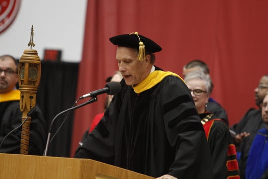 Rex Gandy, provost and vice president for Academic Affairs at Austin Peay State University's Summer Commencement Exercises on Friday, Aug. 9, 2019.