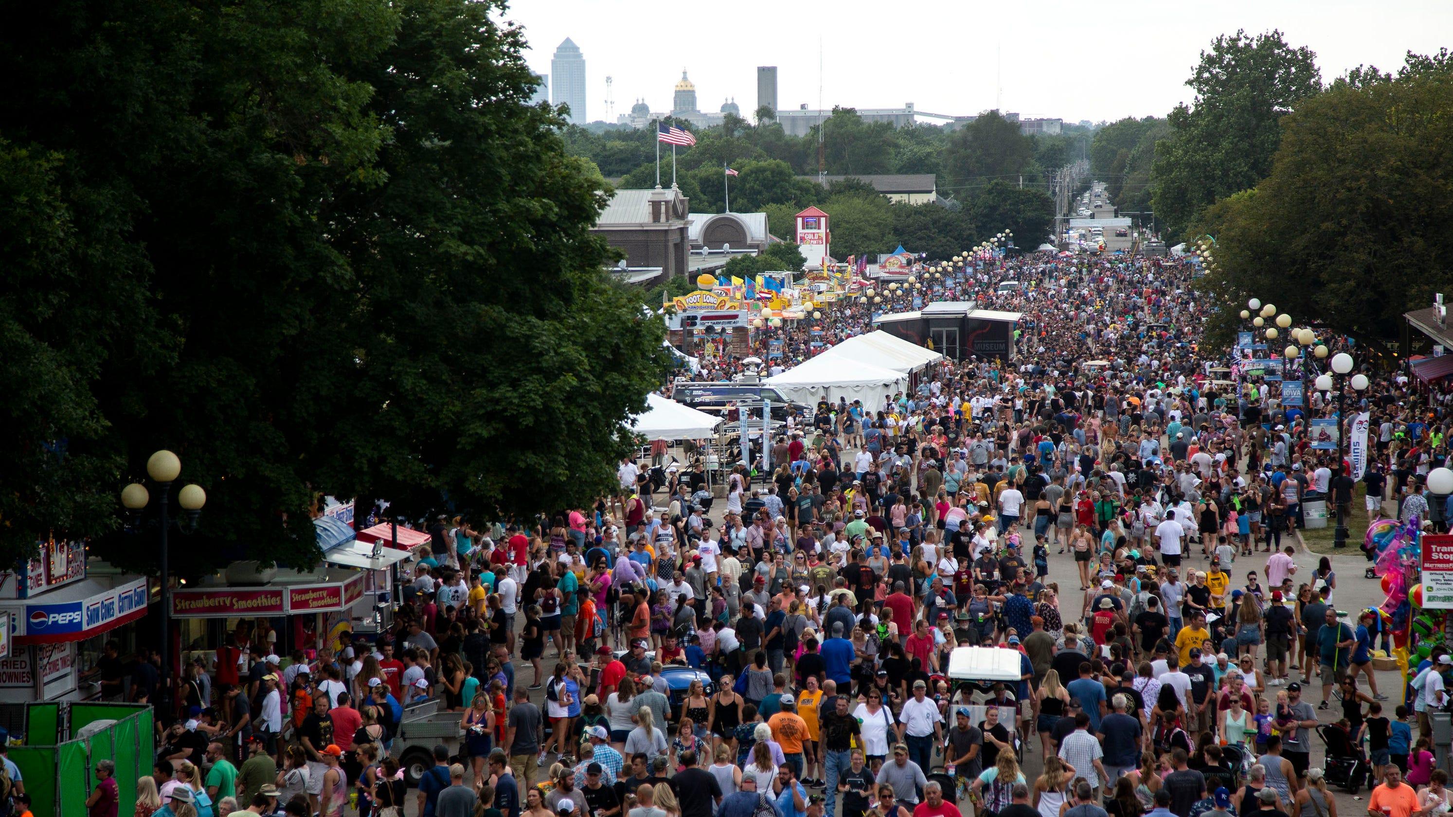 418,000 visit Iowa State Fair in first 4 days