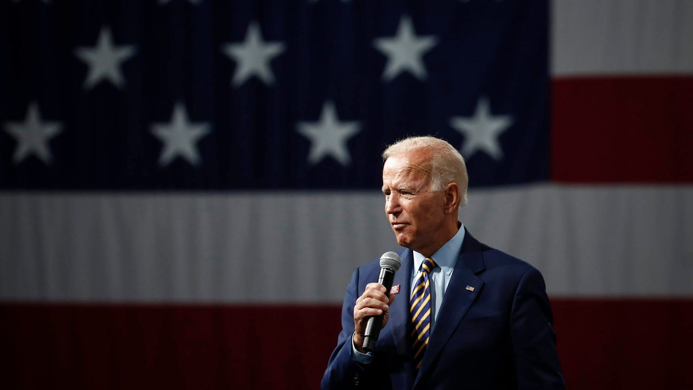 Joe Biden calls Donald Trump's tax cut idea 'the dumbest thing in the world'