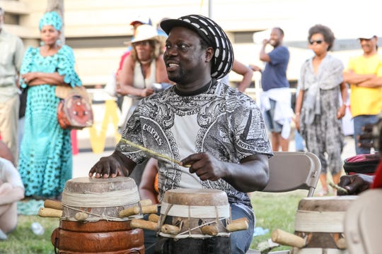 Music, food and arts and crafts are among the offerings at the African World Festival.
