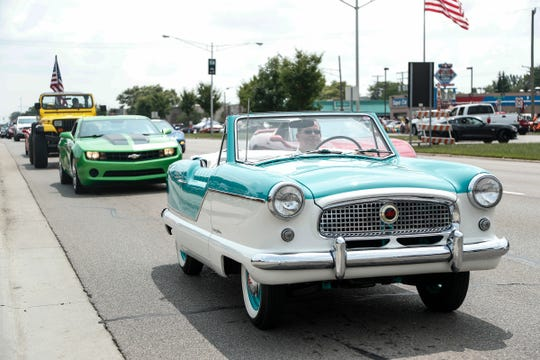 Classic cars and the Michiganders who love them will fill Woodward Avenue from Ferndale to Pontiac on Saturday.