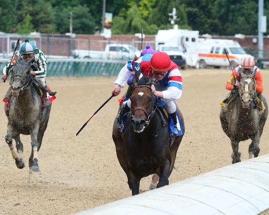 Divine Queen wins a Churchill Downs allowance race in her last start.