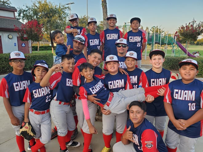 The Guam 12U  All Stars are all smiles at the end of the 2019 Cal Ripken Major 60 World Series event in Visalia, Ca. Guam finished 3-4 and in 7th place out of 12 teams.