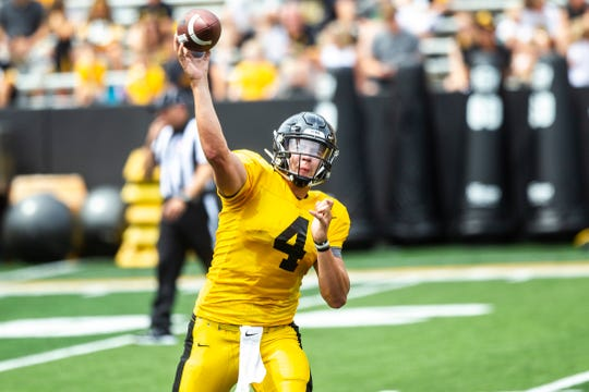 Nate Stanley, of course, isn't Tom Brady. But offensive coordinator Brian Ferentz wants his quarterback (and himself) to be that emotions-detached trigger-man for the Hawkeyes.