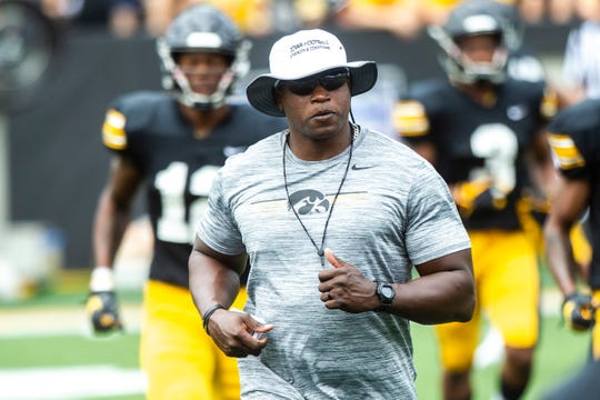 Iowa wide receivers coach Kelton Copeland was the first Hawkeye assistant in our in-season rotation of coaches on Hawk Central radio. Copeland said he is not surprised with his receivers' early-season success but also not satisfied.