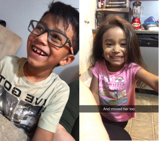 Ayden Javier Mendez, 7, and Yulianna Rose Mendez, 3, are believed to be in extreme danger, police say.