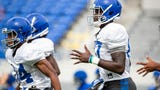 Mike Norvell on what he liked from Memphis' first scrimmage