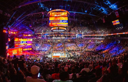 """SummerSlam"" takes place in Toronto on Sunday."