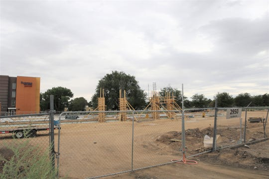 Work has started on a new Planet Fitness location at 2950 E. Main St. in Farmington on Aug. 9. The fitness club is being constructed near the Starbucks and Kmart near the intersection of East Main Street and Browning Parkway.