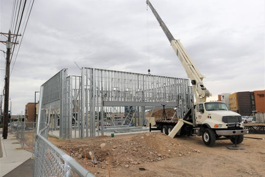 Work is underway on a new Verizon location at 2920 E. Main St. in Farmington on Aug. 9. It is next to the Starbucks location near the intersection of Browning Parkway and East Main St.