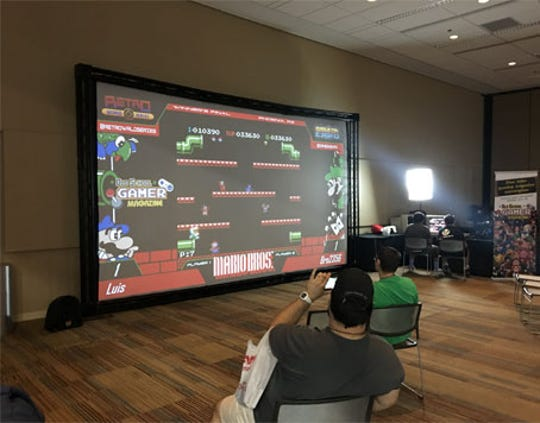 2019 Game On Expo attendees can participate in various video game tournaments throughout the weekend.
