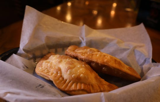 Old San Juan's Empanadas, these filled with beef, at Mi Viejo San Juan at Norton's Pub in Rochester Thursday, Aug. 8, 2019.