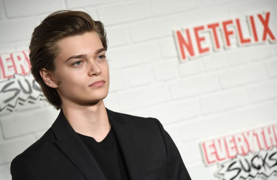 "Actor Elijah Stevenson attends the Netflix premiere of ""Everything Sucks!"" at AMC Loews 34th Street in New York on January 31, 2018."