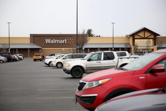 Walmart on Lancaster Dr. NE in Salem.