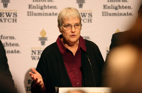 Maricarrol Kueter was an editor for South Dakota News Watch after she retired from the Argus Leader.