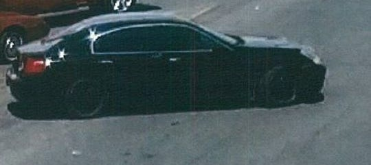 Police are seeking a suspect in the July 6, 2019, burglary of a 2012 Chevrolet Traverse that was parked at the Walmart at 1850 N. Zaragoza Road. They say he was driving this black Infiniti.