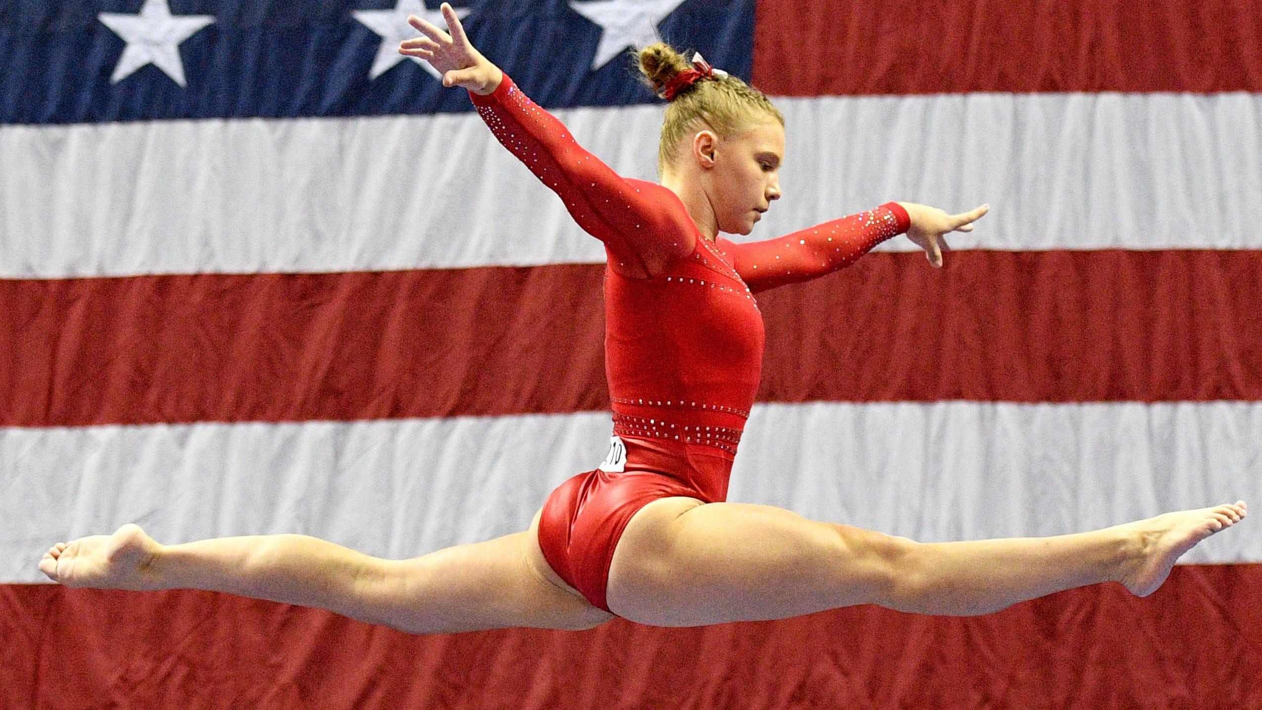Gymnastics Current Events 2020.Gymnastics Olympic Hopeful Jade Carey Charts Unique Path To